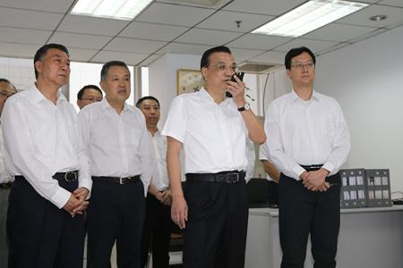 总理李克强到国家市场监督管理总局考察(图1)